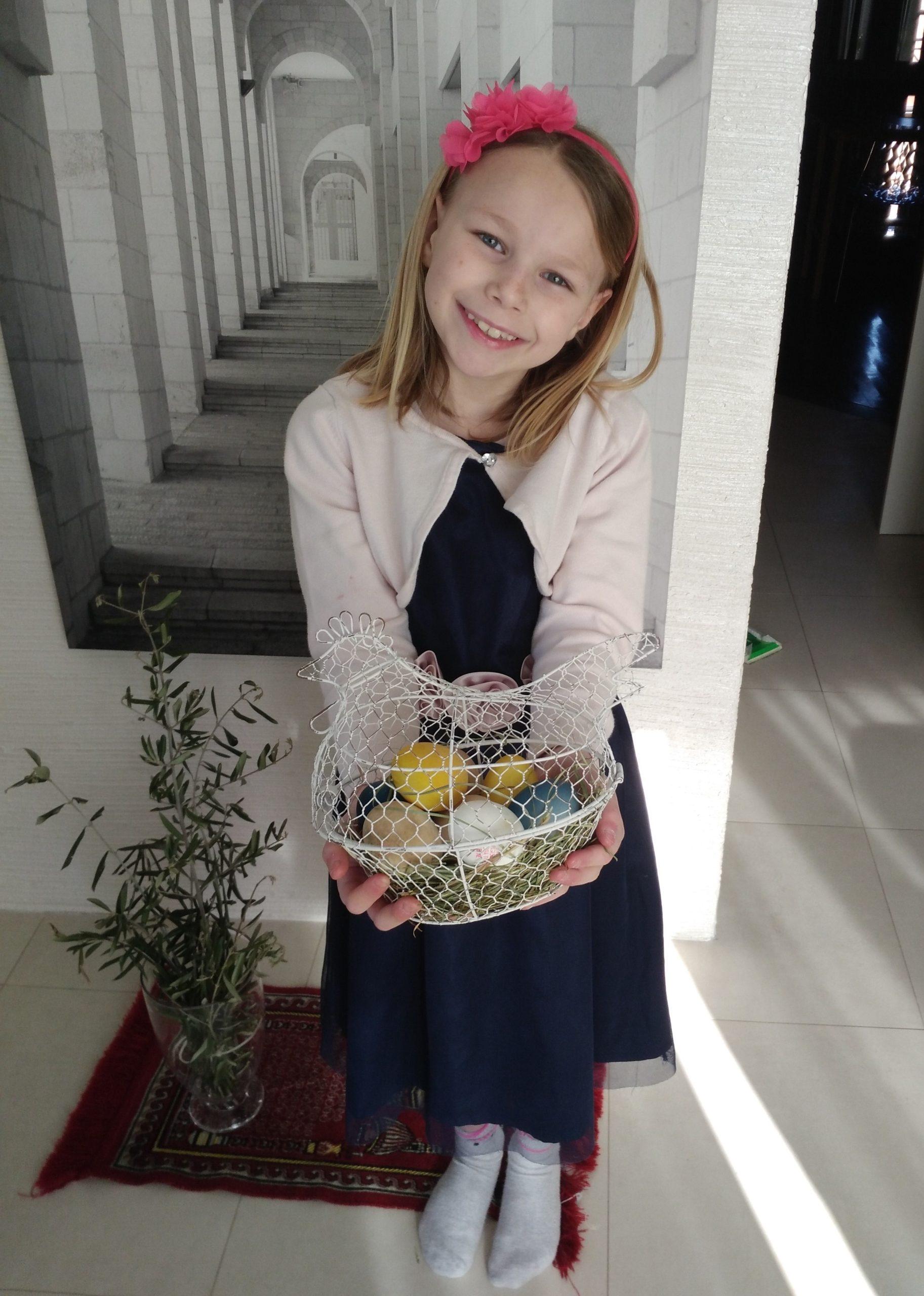 Miriam Fagiani 2^A - Le uova colorate